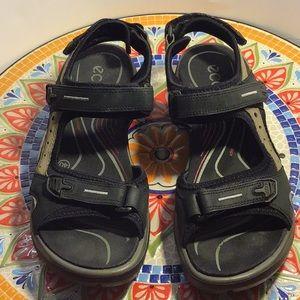 Ecco- outdoor sandals- Velcro